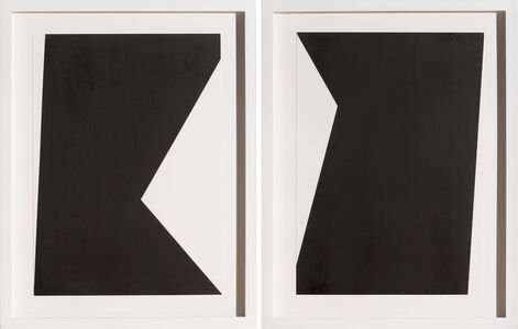 George Thiewes, 'Untitled F (diptych)', 2015