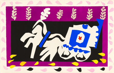 Henri Matisse, 'The Burial of Pierrot', 1947