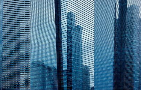 Chris Hauser, 'Pillars of Glass, Singapore', 2011