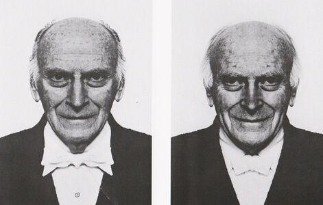 Jiří David, 'Yehudi Menuhin, from the series Hidden Image', 1994
