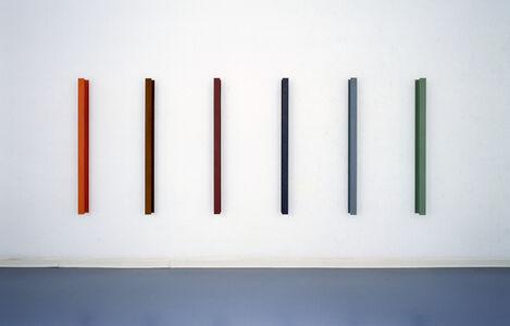 Hartmut Böhm, 'gegenüberstellung, (six-part)', 1991-1992