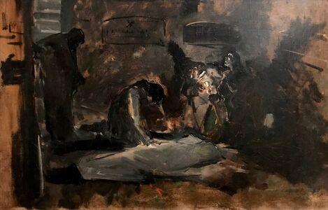 Joaquín Sorolla y Bastida, 'Catacumbas en Roma  ', 1885