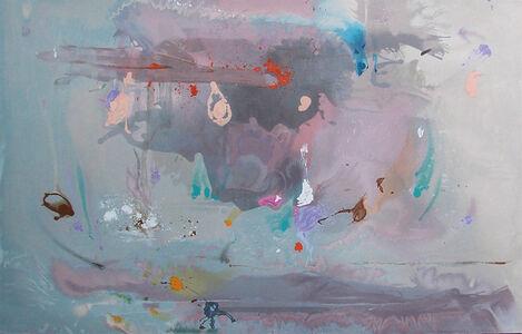 Helen Frankenthaler, 'Grey Fireworks', 2000