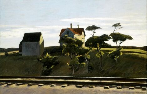 Edward Hopper, 'New York, New Haven and Hartford', 1931