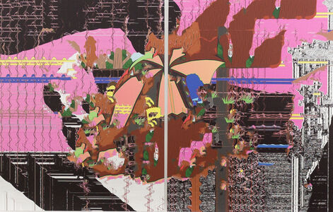 Raphael Brunk, '#774e4b', 2020