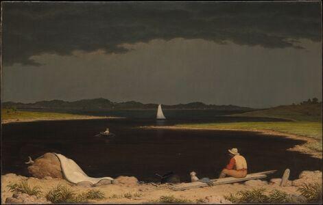 Martin Johnson Heade, 'Approaching Thunder Storm', 1859