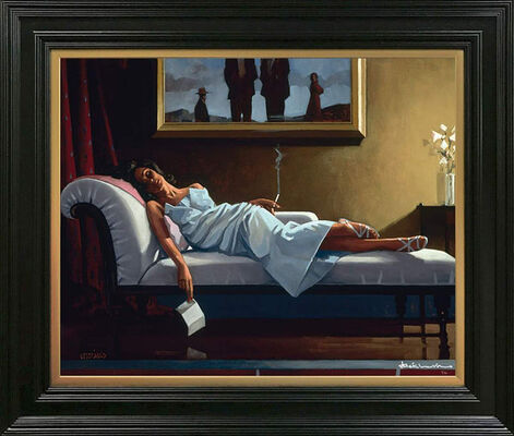 Limited Edition Prints by Jack Vettriano, installation view