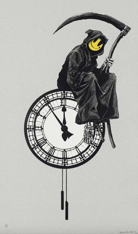 Banksy, ''Grin Reaper' (Signed)', 2005, Print, Screenprint on paper, ArtLife Gallery