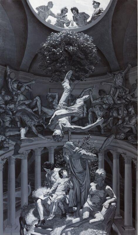 Nicola Verlato, 'Hostia', 2014, Painting, Vinyl on linen, Altro Mondo