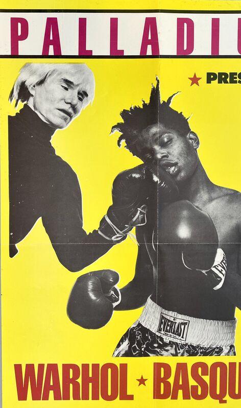 Jean-Michel Basquiat, 'Warhol Basquiat Boxing Poster (Warhol Basquiat The Palladium)', 1985, Ephemera or Merchandise, Offset lithograph, Lot 180