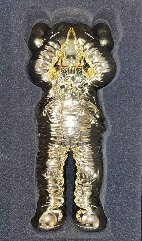 KAWS, 'Holiday Space (Gold) ', 2020, Sculpture, Polyurethane Figure, New Union Gallery
