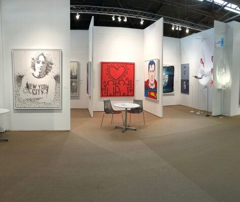 Connect Contemporary at Art New York 2018, installation view