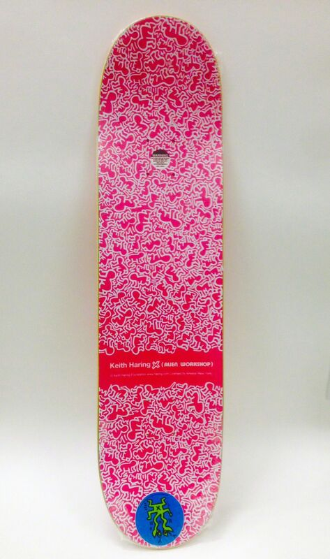 Keith Haring, 'Keith Haring Lizard Skateboard Deck ', ca. 2012, Ephemera or Merchandise, Screen print on Maple Wood Skateboard Deck, Lot 180