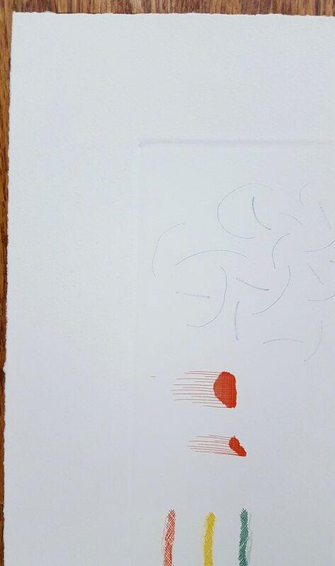 David Hockney, 'A Moving Still Life', 1977, Print, Etching, Softground Etching, and Aquatint, Graves International Art