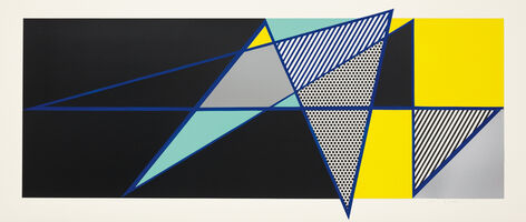 Roy Lichtenstein, 'Reflections on Expressionist Painting, from The Carnegie Hall 100th Anniversary Portfolio', 1990