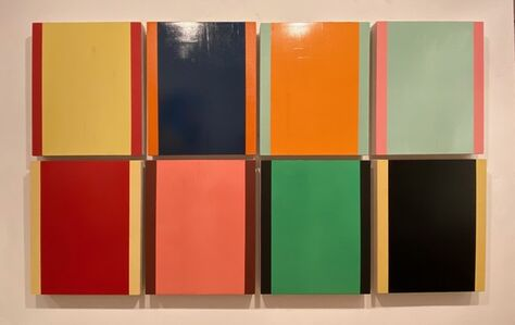 Manolo Ballesteros, '8 Modules', 2020