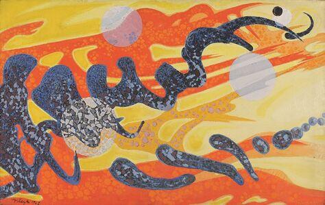 Abidin Elderoglu, 'View from Space', 1962