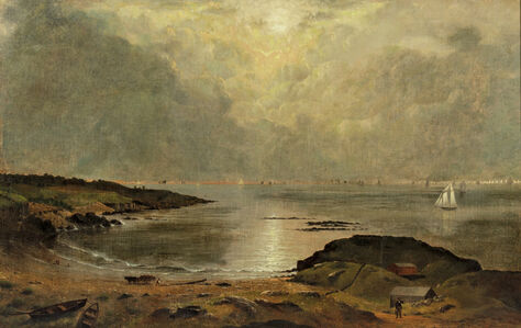 Joseph Rusling Meeker, 'Coast of Maine'