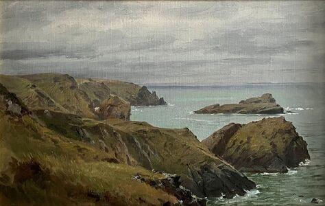 William Trost Richards, 'Cornish Coast, England', ca. 1878