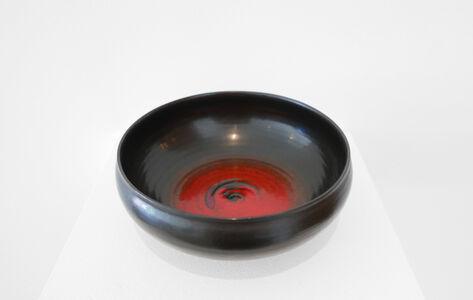 Otto Natzler, 'Low Bowl'