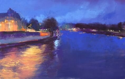 Jeanne Rosier Smith, 'Evening on the Seine'
