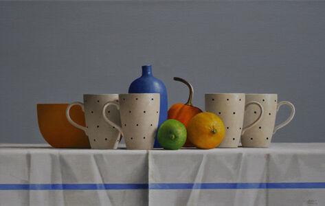 Janet Rickus, 'Four Polka Dot Cups', 2016