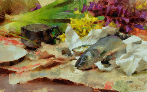 Daniel Keys, 'Fish Still LIfe', 2013