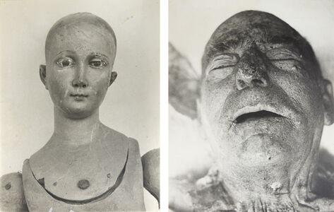 Matt Mullican, 'Untitled (Doll & Dead Man)', 1974