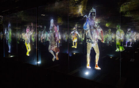 teamLab, 'Peace Can Be Realised Even Without Order', 2012