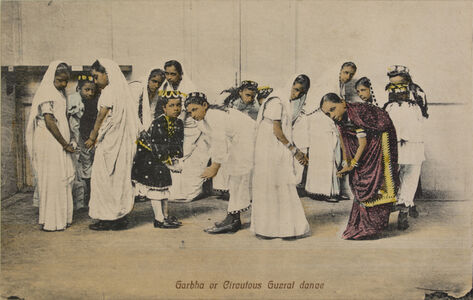 Company School Artist, 'Garbha or Circutous Guzrat Dance'