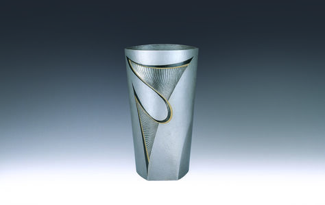 "Otsuki Masako, 'Silver Vase ""Leap""', 1998"