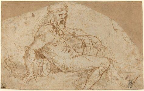 Giulio Romano, 'River God', ca. 1528