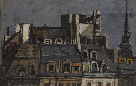 Roger Edward Kuntz, 'Cityscape', 1960