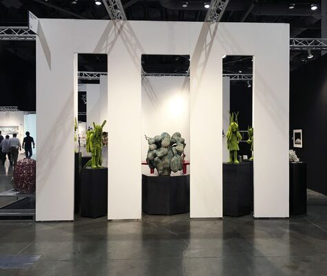 Jason Jacques Gallery at Seattle Art Fair 2016, installation view
