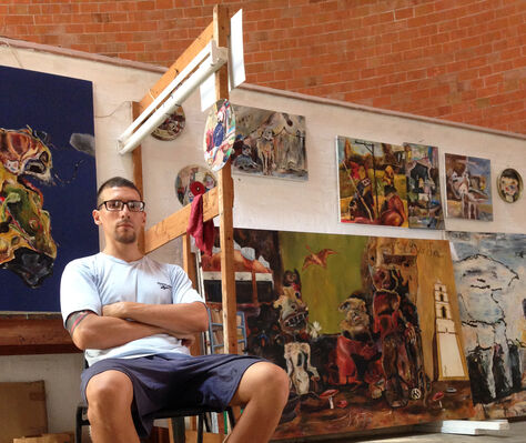 Miroslav de la Torre Kozorez, installation view
