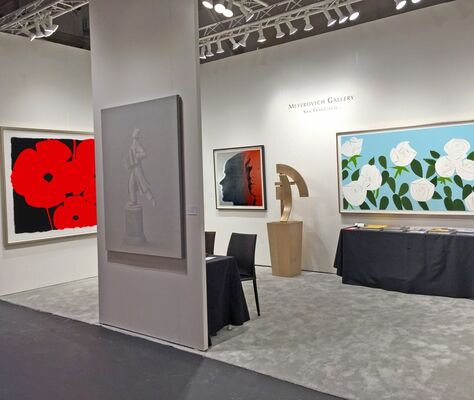Meyerovich Gallery at The San Francisco Fall Antiques Show 2016, installation view
