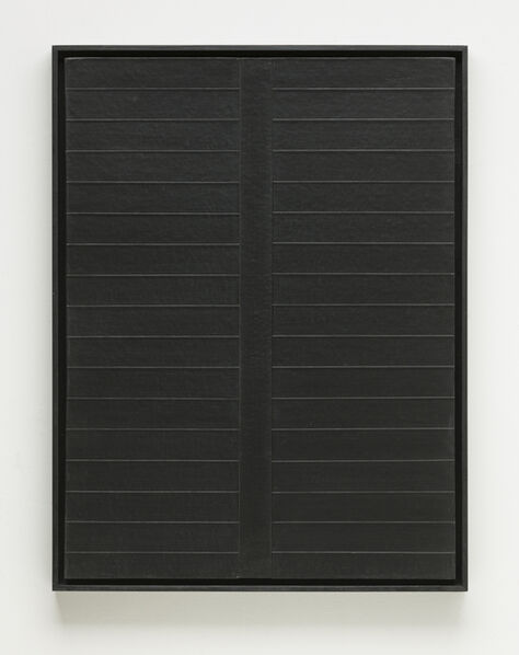 Tadaaki Kuwayama, 'Untitled' (Black)', 1961