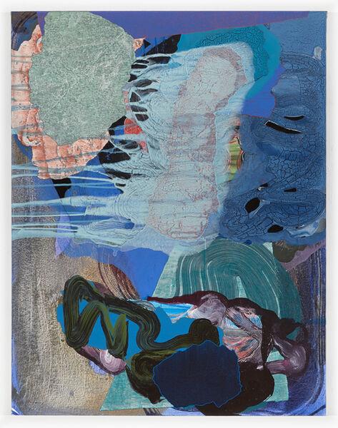 Zachary Keeting, 'black lightning flash', 2016