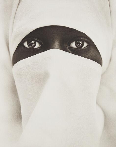 Chester Higgins, Jr., 'Muslim Woman, New York City', 1990