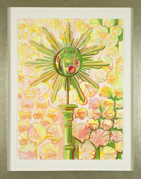 Lee Essex Doyle, 'Pink and Green Mirror with Shells', 2013