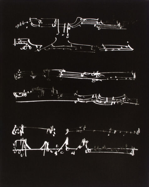 Frederick Sommer, 'Untitled (Photograph of Glue Color Drawing)', 1954