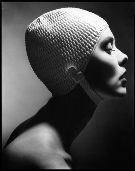 Len Prince, 'Swimming Cap Profile, New York', 1991