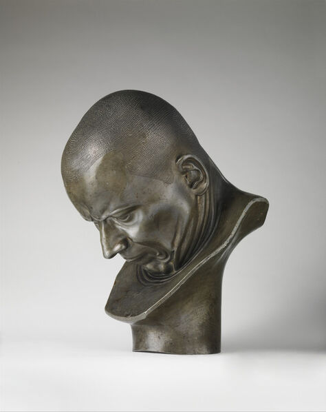 Franz Xaver Messerschmidt, 'A Hypocrite and a Slanderer', ca. 1770–1783