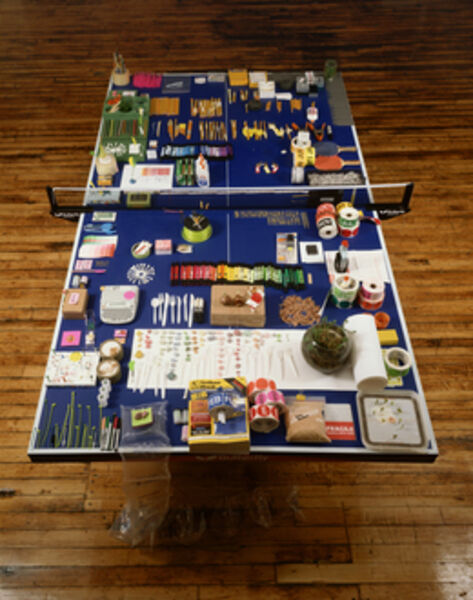 Phoebe Washburn, 'Ping-Pong Table', 2007