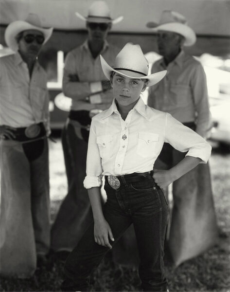 Sally Mann, 'Jennifer at the Rodeo', 1983-1985
