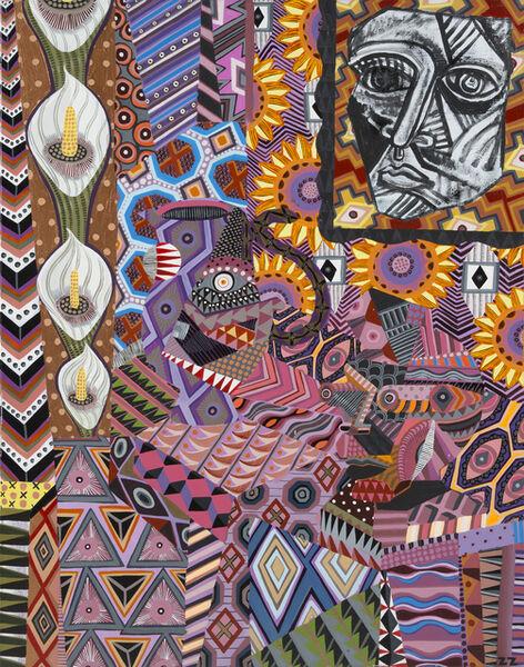 Zio Ziegler, 'Collapsed Still Life', 2015