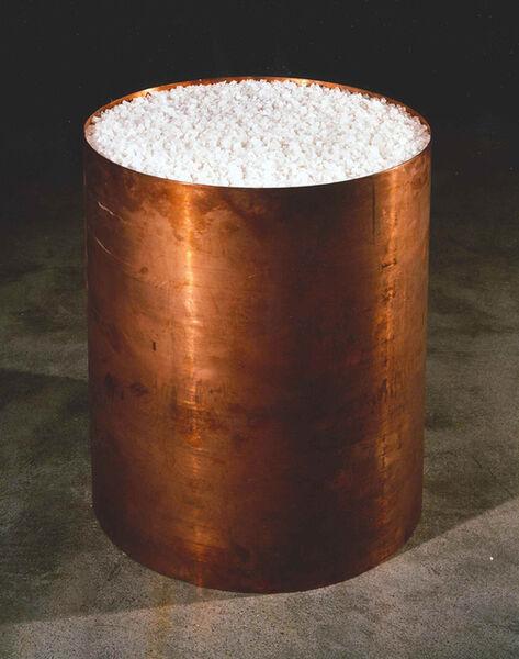 Meg Webster, 'Copper Containing Salt II', 2017