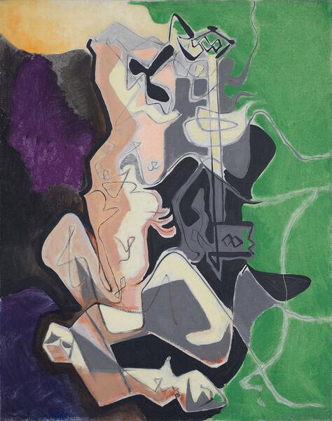 André Masson, 'La Centaure Porte-Cle', 1947