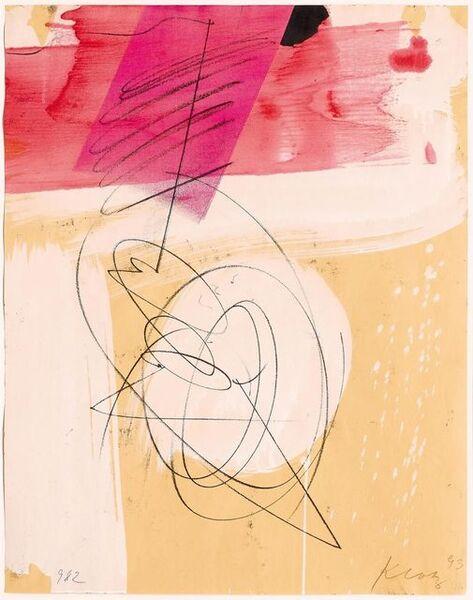 Lenz Klotz, 'Beinahe virtuos', 1993