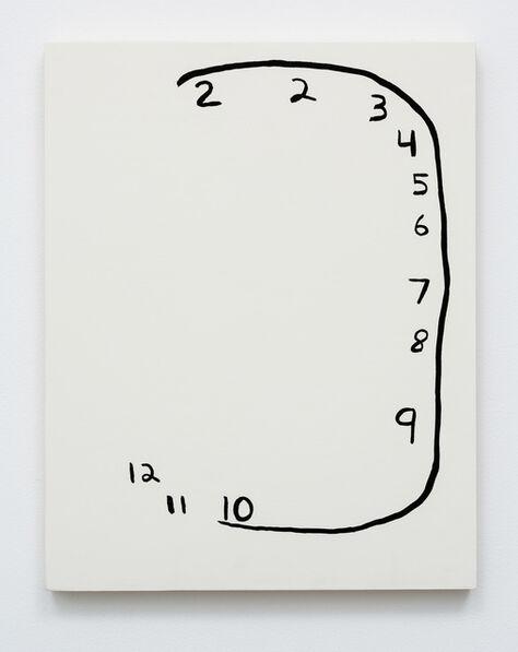 Meg Cranston, 'Clock with Left Missing', 2015